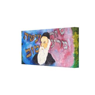 Altere Rebbe Impresión En Lienzo Estirada