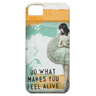altered art ballerina iPhone 5 cover