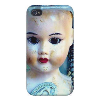 altered art doll case cover for iPhone 4