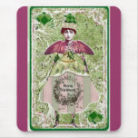 Altered Art Santa Fairy Collage Sheet One22 Mouse Pad