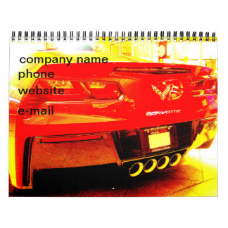 Altered Corvette Photos Calendar