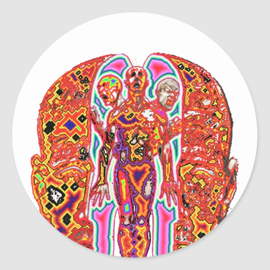 Altered Ego Classic Round Sticker