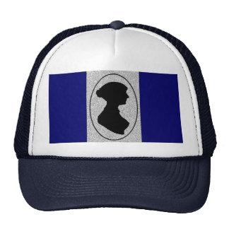 Altered Jane Ausetn silhouette Trucker Hat