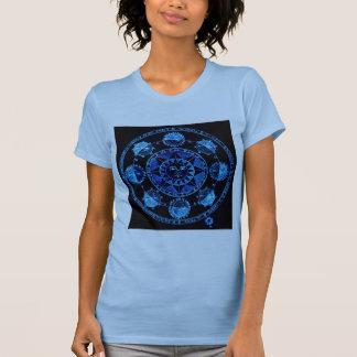 Altered Light Blue Zodiac Sun Eclipses T-Shirt