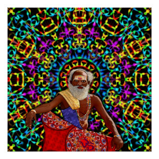 Altered Perceptions of a Holy Man Poster