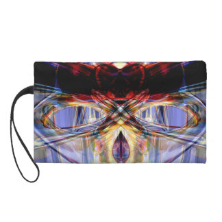 Altered States Abstract Wristlet Clutches