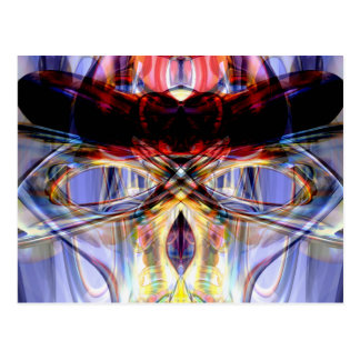 Altered States Abstract Postcard