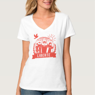 ALTERMONDIALISME LIBERTÉ/FREEDOM - FRANCE T-Shirt