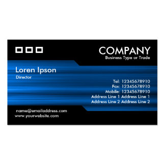 Alternancia - textura azul cepillada tarjetas de visita