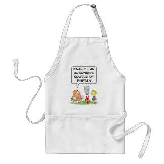 alternate alternative source of energy caveman fir adult apron