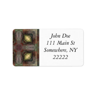 Alternate Dimensions Tiled Abstract Label