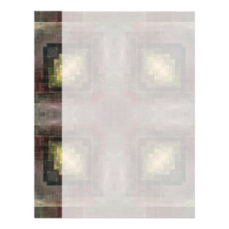 Alternate Dimensions Tiled Abstract Letterhead