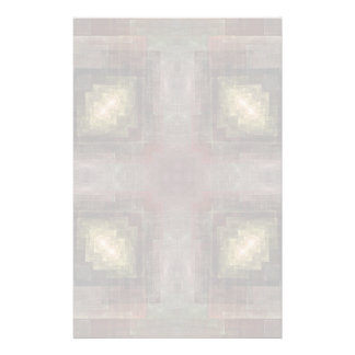 Alternate Dimensions Tiled Abstract Stationery