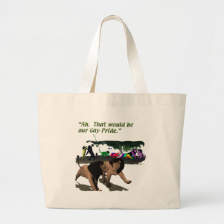 Alternate Lifestyles - LGBT - Lions, Gay Pride Canvas Bags