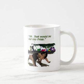 Alternate Lifestyles - LGBT - Lions, Gay Pride Classic White Coffee Mug