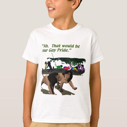 Alternate Lifestyles - LGBT - Lions, Gay Pride T-Shirt