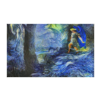Alternate Paradise Lost Post Modernism Oil Paint Canvas Print