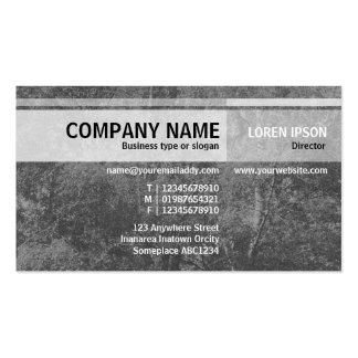 Alternate Tones - Birch Tree - Gray Business Card