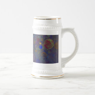 Alternate Universe Abstract Art Beer Stein