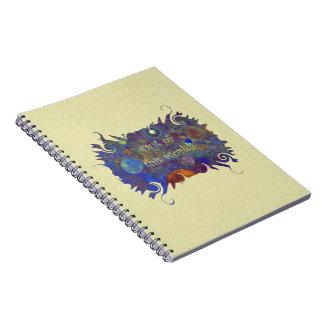 Alternate Universe Abstract Art Notebook