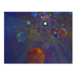 Alternate Universe Abstract Art Post Card