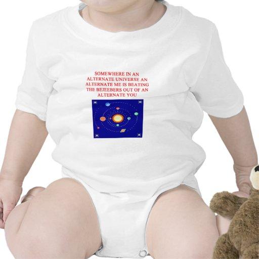alternate universe phsics joke tshirt