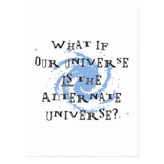 Alternate Universe Postcard