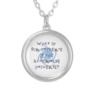 Alternate Universe Silver Plated Necklace