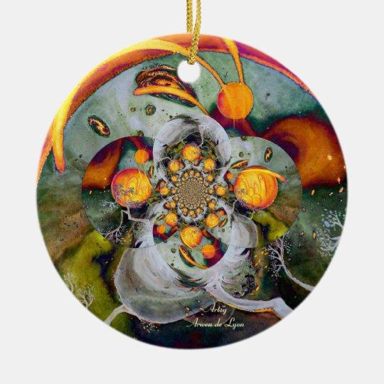 Alternate World 1 Ceramic Ornament