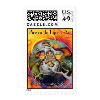 Alternate World 1 Postage Stamps