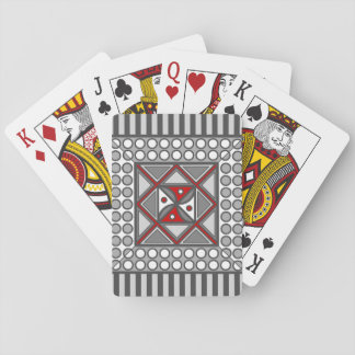 Alternating Geometric Classic Playing Cards