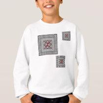 Alternating Geometric Kid's and Baby Light Shirt