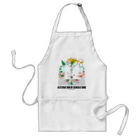Alternation Of Generations (Flower Life Cycle) Adult Apron