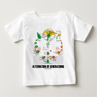 Alternation Of Generations (Flower Life Cycle) Baby T-Shirt