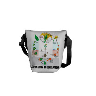 Alternation Of Generations (Flower Life Cycle) Courier Bag