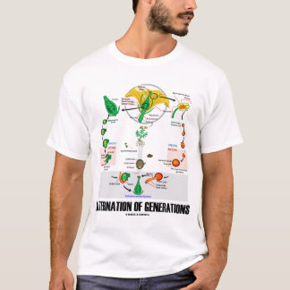 Alternation Of Generations (Flower) T-Shirt