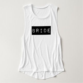 Alternative Bride | Black Label | Wedding Party Tank Top