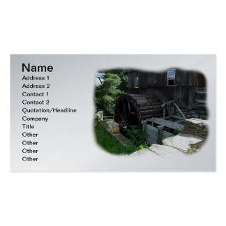 Alternative Energy - Grist Mill Power Business Card