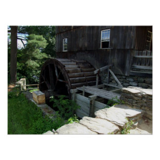 Alternative Energy - Grist Mill Power Print