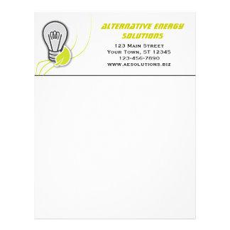 Alternative Energy Letterhead