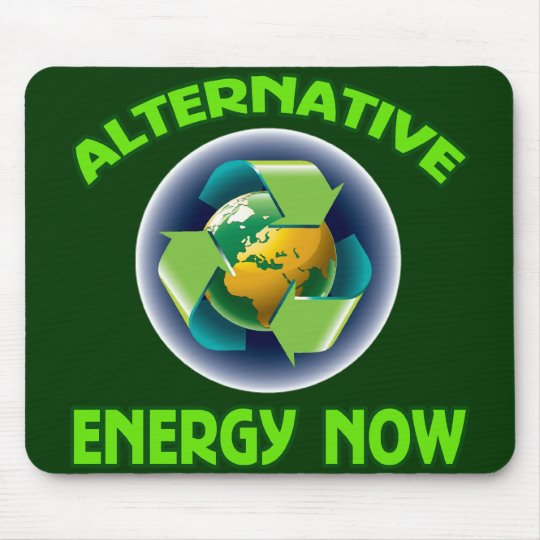 ALTERNATIVE ENERGY NOW MOUSE PAD
