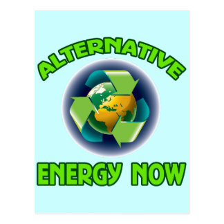 ALTERNATIVE ENERGY NOW POSTCARD