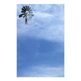 Alternative Energy - Pinwheel Windmill Power Stationery