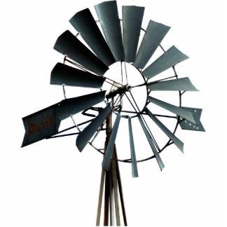 Alternative Energy - Pinwheel Windmill Power Statuette