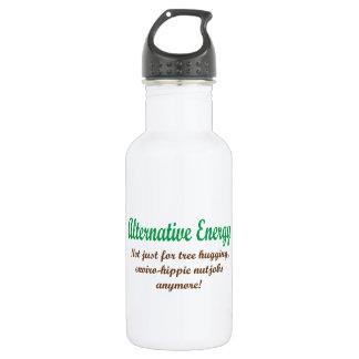 Alternative Energy Stainless Steel Water Bottle
