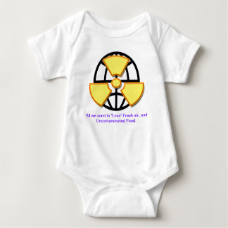 """Alternative energy  supplies wanted""* Baby Bodysuit"