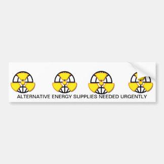 """""""Alternative energy  supplies wanted""""* Bumper Sticker"""