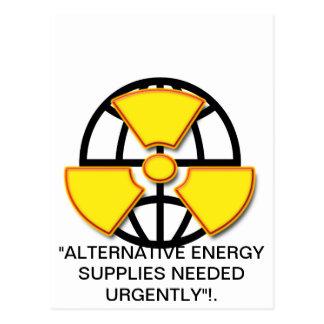 """Alternative energy  supplies wanted""* Postcard"