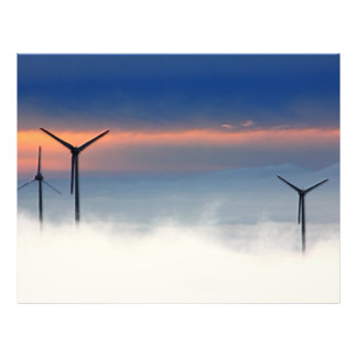 Alternative Energy - Wind Power in the Clouds Flyer