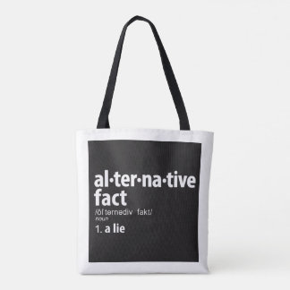 ALTERNATIVE FACT DEFINITION Tote Bag